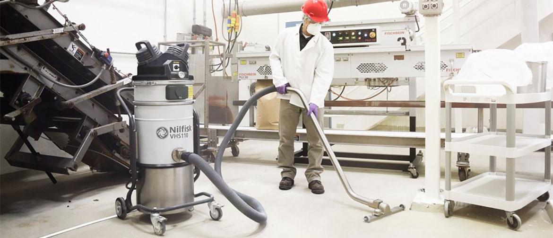 Nilfisk VHS110 ATEX, explosieveilige industriële stofzuiger
